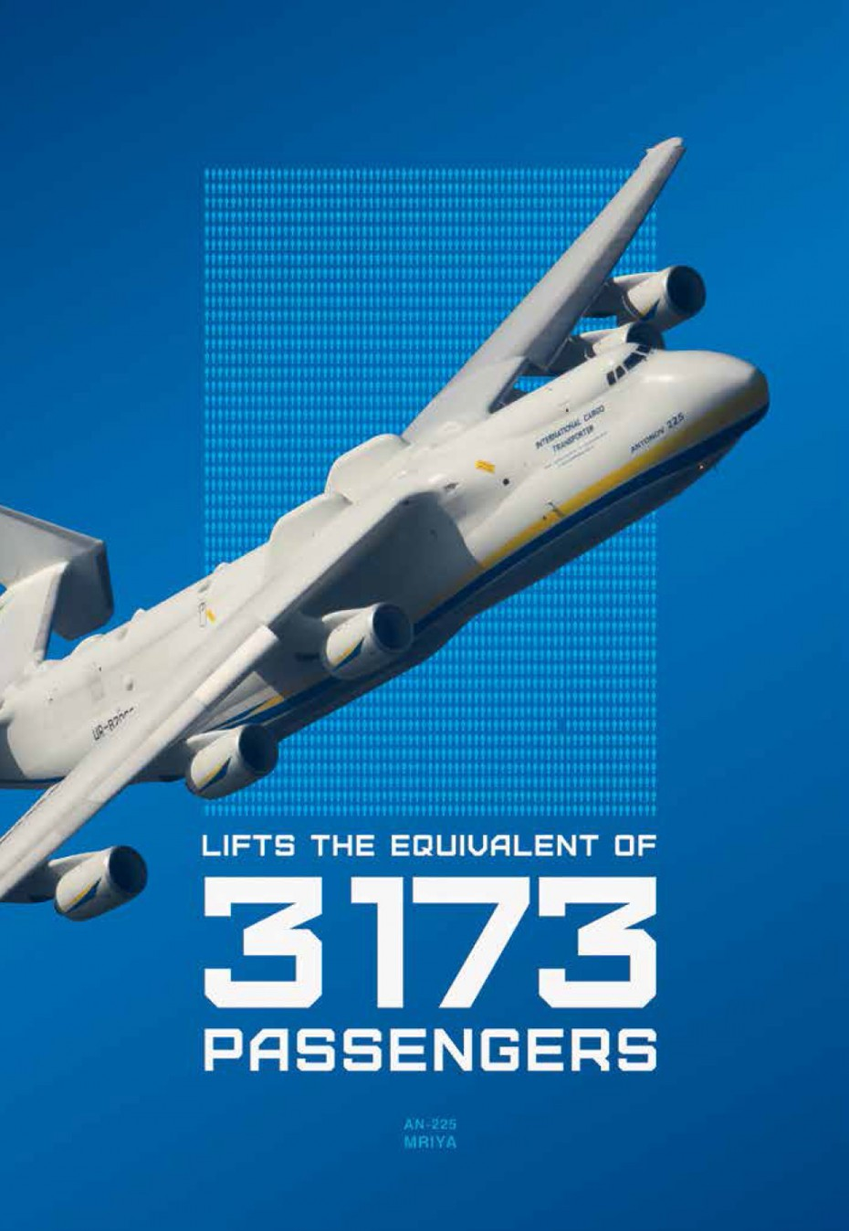 АН-225 «МРІЯ» — НАЙБІЛЬШИЙ У СВІТІ ЛІТАК